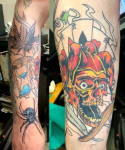 przemek_zabka_przedramie_tattoo