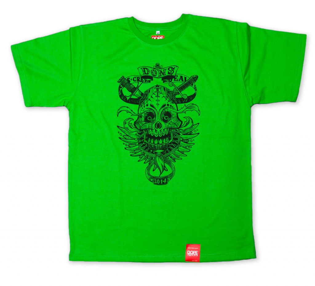 koszulka dons green