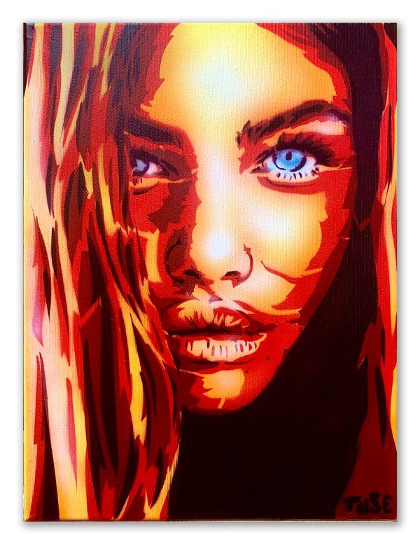 Obraz Pani Pionowa 40x30 cm